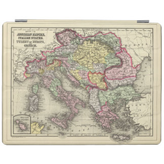 Austrian Empire, Italy, Turkey in Europe, Greece iPad Cover