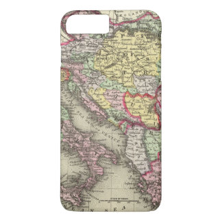 Austrian Empire, Italy, Turkey in Europe, Greece iPhone 7 Plus Case