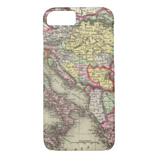 Austrian Empire, Italy, Turkey in Europe, Greece iPhone 8/7 Case