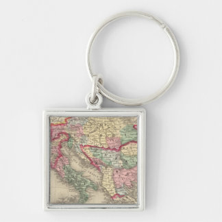 Austrian Empire, Italy, Turkey in Europe, Greece Key Ring