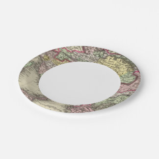 Austrian Empire, Italy, Turkey in Europe, Greece Paper Plate
