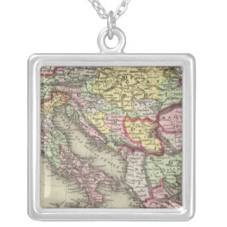 Austrian Empire, Italy, Turkey in Europe, Greece Silver Plated Necklace