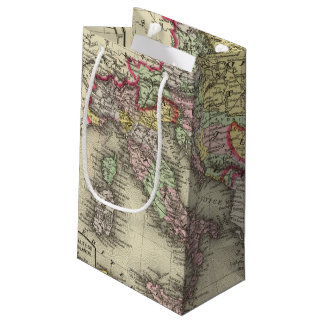Austrian Empire, Italy, Turkey in Europe, Greece Small Gift Bag