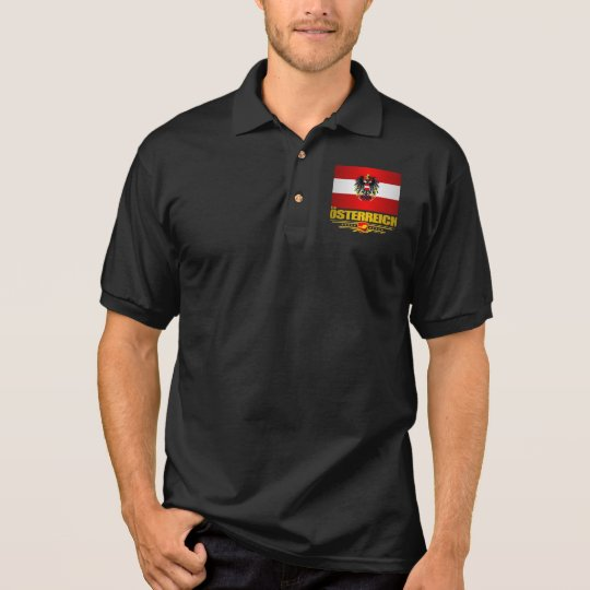 Austrian Flag 2 Polo Shirt
