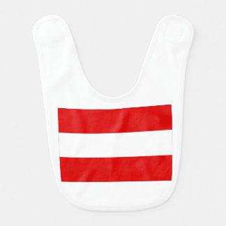 Austrian Flag Bib