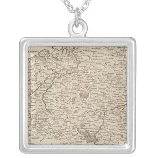Austrian French and Dutch Netherlands Silver Plated Necklace