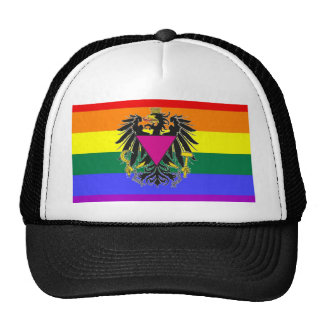 Austrian GLBT Pride Flag Trucker Hat