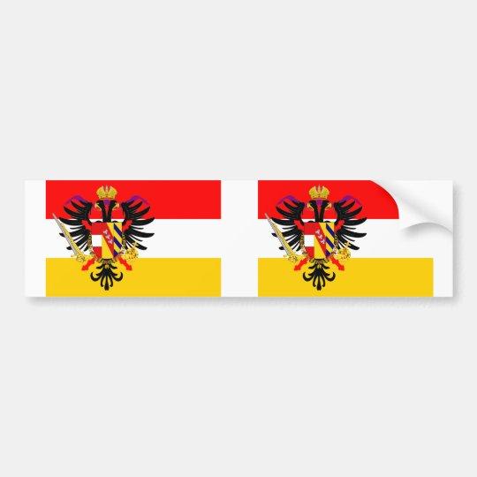 Austrian Low Countries, Belgium flag Bumper Sticker