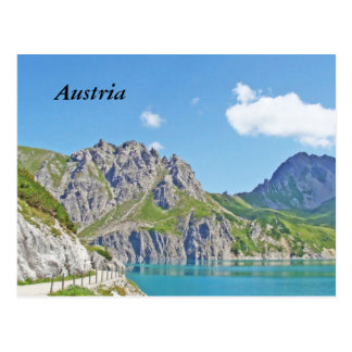 Austrian mountains - Postcard
