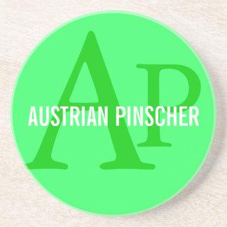 Austrian Pinscher Monogram Coasters