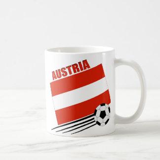 Austrian Soccer Team Basic White Mug