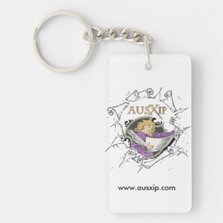 AUSXIP Keychain with Bard and Sais