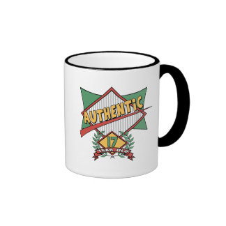 Authentic 17th Birthday Gifts Coffee Mugs