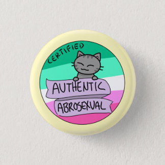 Authentic Abrosexual 3 Cm Round Badge