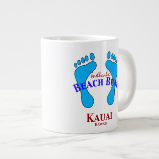 Authentic Beach Bum Kauai Hawaii Jumbo Mug