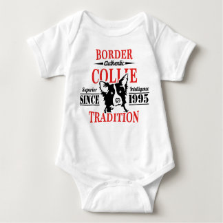 Authentic Border Collie Tradition Baby Bodysuit