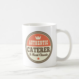 Authentic Caterer Vintage Gift Idea Coffee Mug
