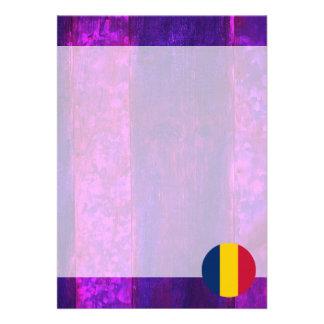 Authentic Chadian Flag 13 Cm X 18 Cm Invitation Card
