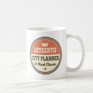 Authentic City Planner Vintage Gift Idea Mugs