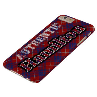Authentic Clan Hamilton Scottish Tartan Design Barely There iPhone 6 Plus Case
