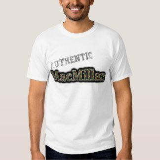 Authentic Clan MacMillan Tartan Name Design Tshirt