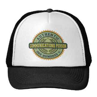 Authentic Communications Person Hat