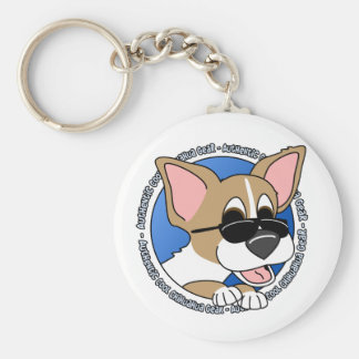 Authentic Cool Chihuahua Keychain