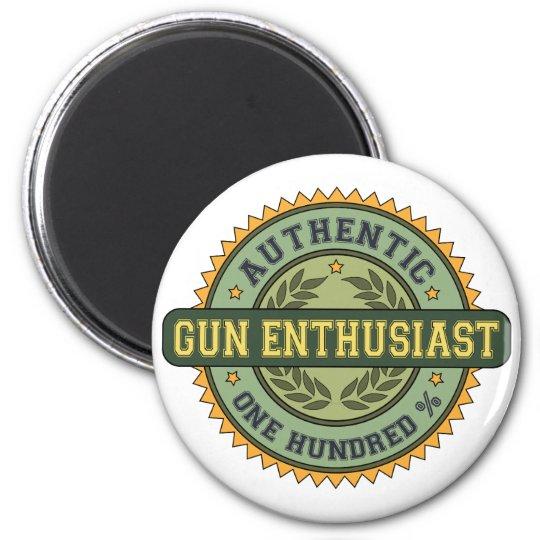 Authentic Gun Enthusiast Magnet