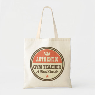 Authentic Gym Teacher Vintage Gift Idea Tote Bag