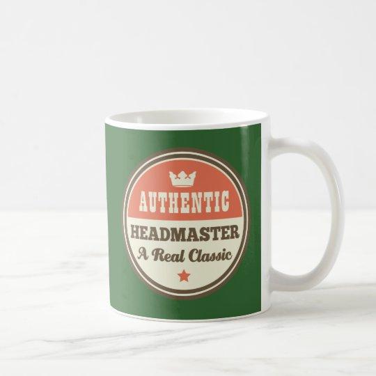 Authentic Headmaster A Real Classic Coffee Mug