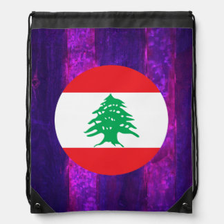 Authentic Lebanese Flag Backpacks