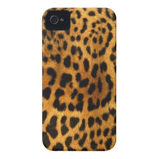 Authentic Leopard Fur Texture iPhone 4 Case-Mate Case
