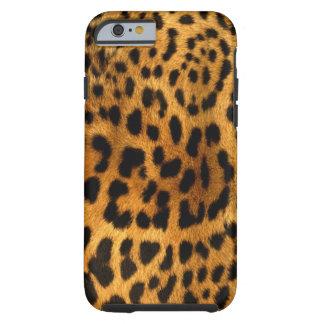 Authentic Leopard Fur Texture Tough iPhone 6 Case