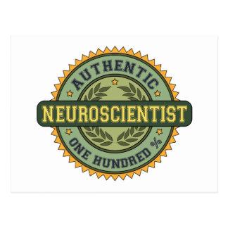 Authentic Neuroscientist Postcard