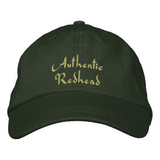 Authentic Redhead Irish Embroidered Cap / Hat