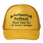 Authentic Redhead Mesh Hat