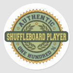Authentic Shuffleboard Player Stickers