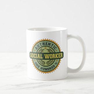 Authentic Social Worker Coffee Mug
