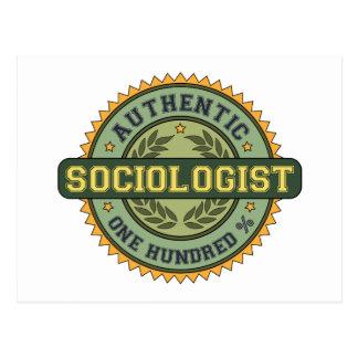 Authentic Sociologist Postcard