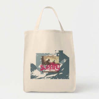 Authentic Surfing T shirts and Gifts Tote Bag
