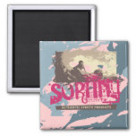 Authentic Surfing Tshirts and Gifts Fridge Magnets