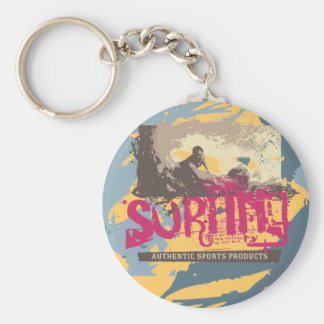 Authentic Surfing Tshirts and Gifts Keychain