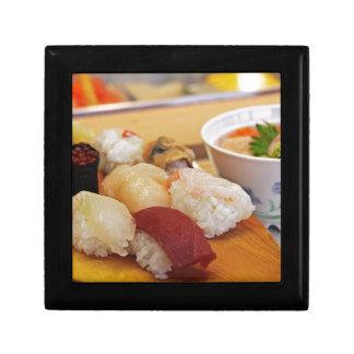 Authentic Sushi Sashimi Small Square Gift Box