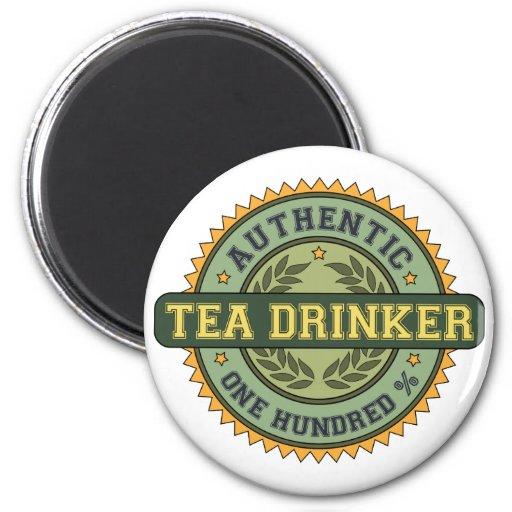 Authentic Tea Drinker Magnet