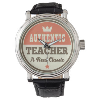 Authentic Teacher (Funny) Gift Watch