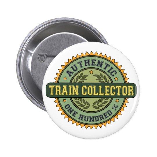Authentic Train Collector 6 Cm Round Badge