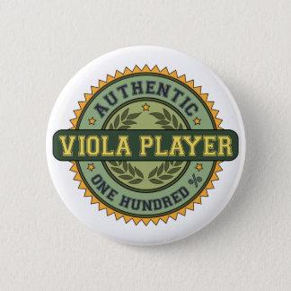 Authentic Viola Player 6 Cm Round Badge