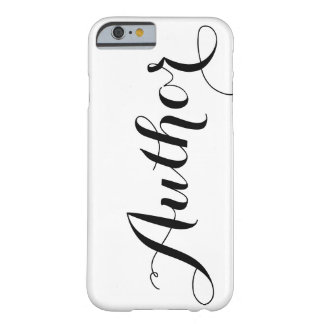 Author Calligraphy Phone Case Barely There iPhone 6 Case