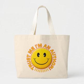 Author Trust Me Smiley Bag