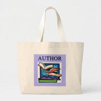 AUTHORS and writers Jumbo Tote Bag
